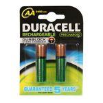 باتری قلمی قابل شارژ دوراسل مدل Duralock HR6 بسته 2 عددی