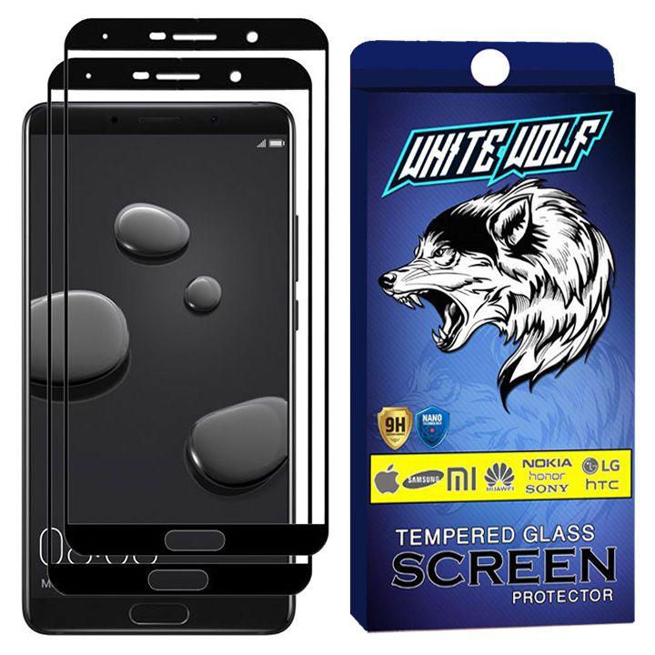 محافظ صفحه نمایش وایت ولف مدل WGF2 مناسب برای گوشی موبایل هوآوی  Mate 10 بسته 2 عددی