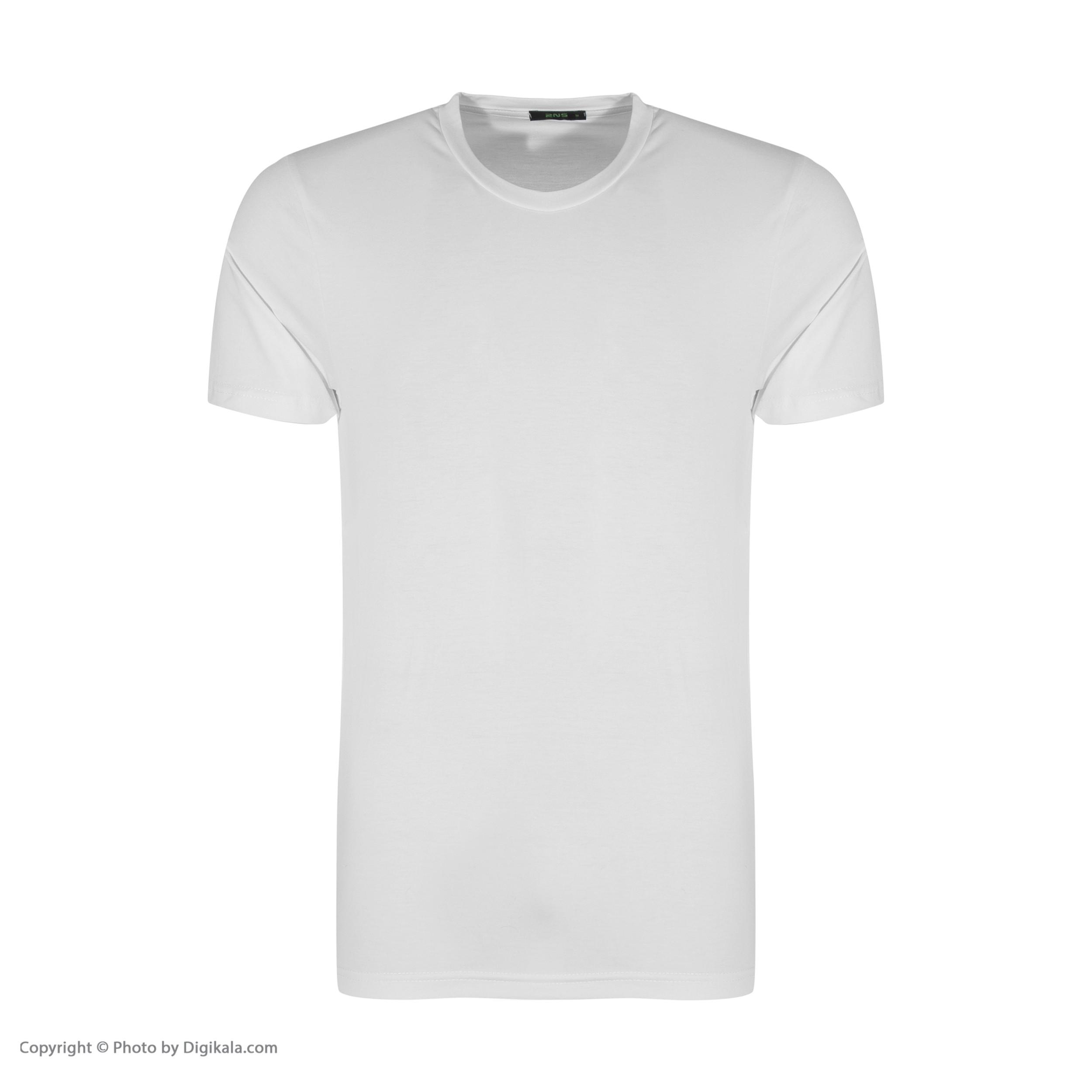 تصویر تی شرت مردانه آر ان اس مدل 131005-93