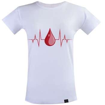 تیشرت زنانه 27 مدل ضربان قلب کد KS15