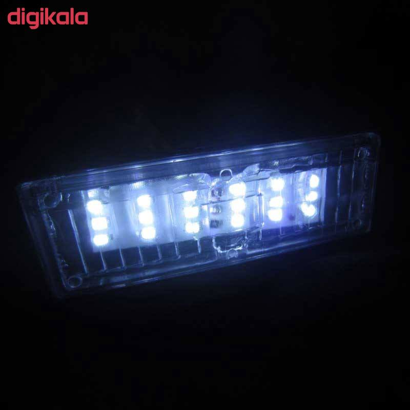 چراغ پلاک خودرو تک لایت مدل AM 5964 S مناسب برای سمند بسته 2 عددی main 1 1