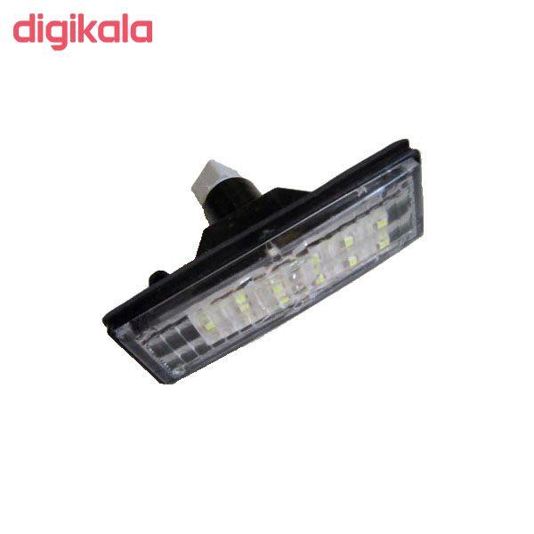 چراغ پلاک خودرو تک لایت مدل AM 5964 S مناسب برای سمند بسته 2 عددی main 1 2