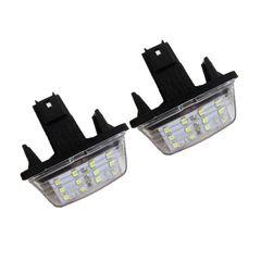 چراغ پلاک خودرو تک لایت مدل AM 5964 P مناسب برای پژو پارس بسته 2 عددی