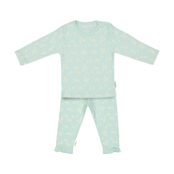 ست تی شرت و شلوار نوزادی دخترانه بی بی ناز مدل 1501504-41