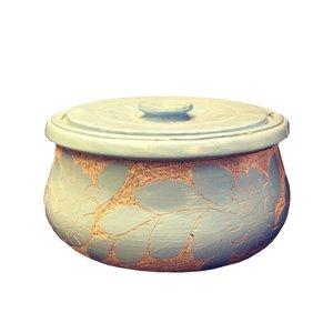 ظرف دیزی سنگی طرح تابه ای کد DZTA 1515