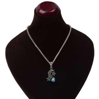 گردنبند نقره زنانه کد GZ113