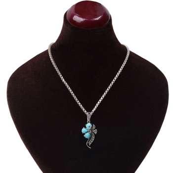 گردنبند نقره زنانه کد GZ112