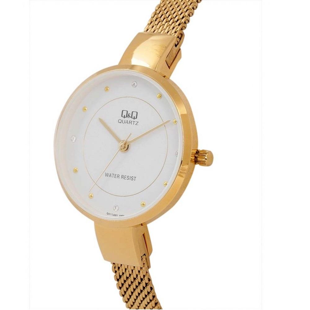 ساعت مچی عقربه ای زنانه کیو اند کیو مدل QA17J001Y              خرید (⭐️⭐️⭐️)