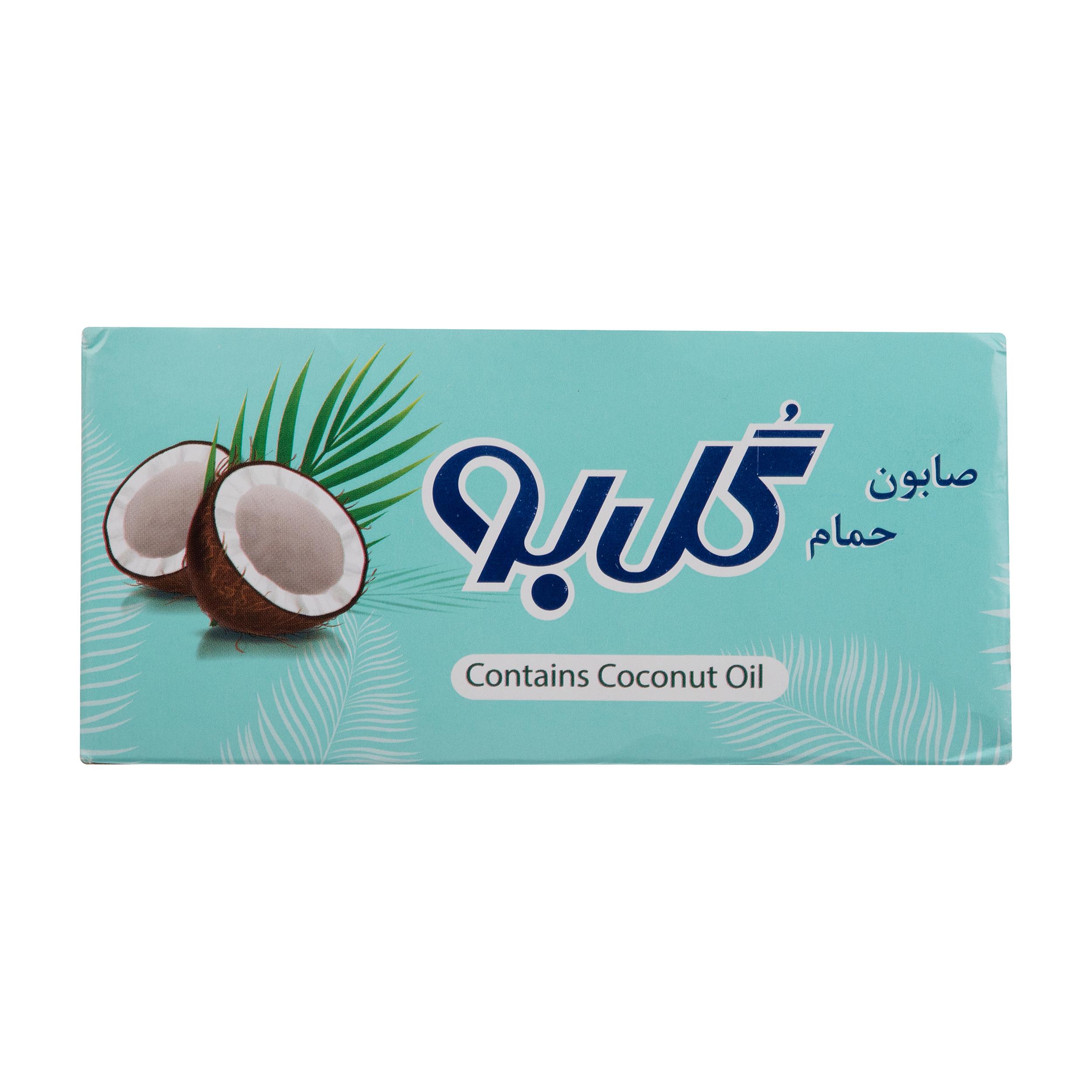 صابون شستشو گل بو مدل Coconut مقدار 120 گرم بسته 6 عددی