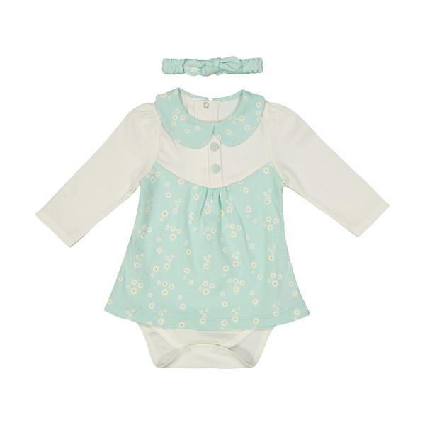 سرهمی نوزادی دخترانه بی بی ناز مدل 1501518-4101