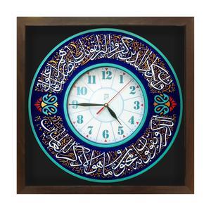 ساعت دیواری لوح هنر طرح وان یکاد کد 166