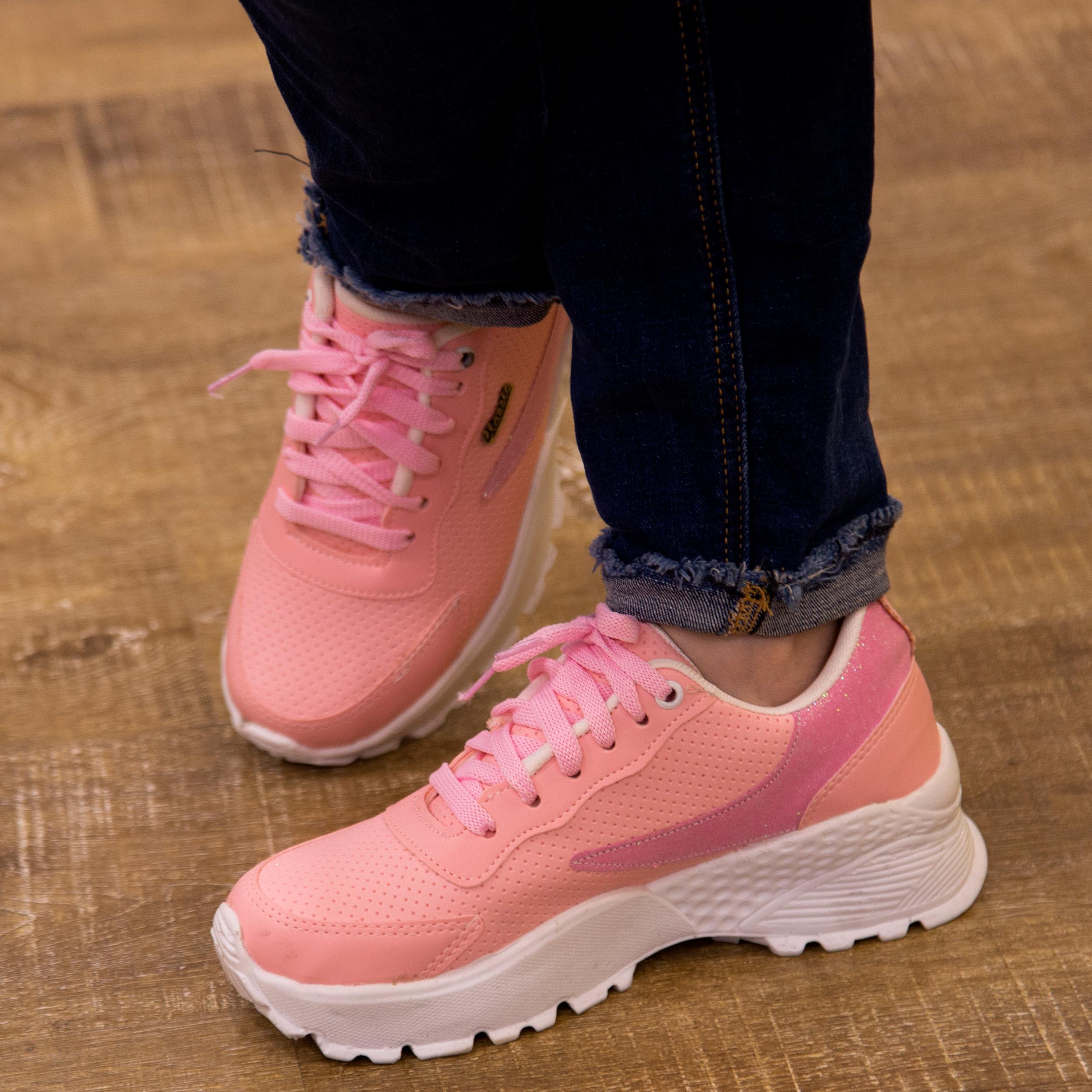 کفش مخصوص پیاده روی زنانه مدل CLS-PK main 1 5