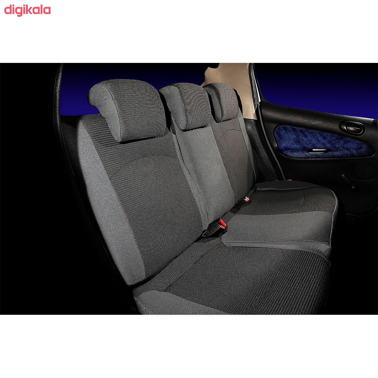 روکش صندلی خودرو هایکو طرح پانیذ مناسب برای پژو 206 main 1 11
