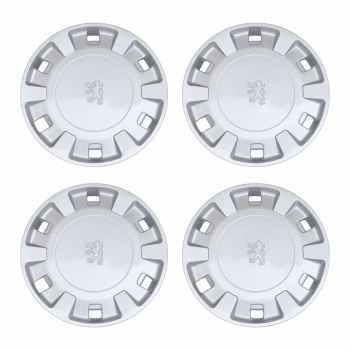 قالپاق چرخ سایز 14 اینچ مدل 0014 مناسب برای پژو 405 بسته 4 عددی