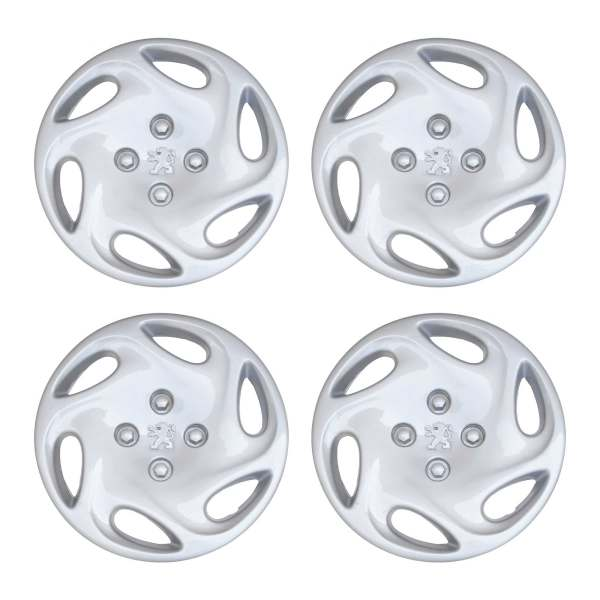 قالپاق چرخ مدل 654 سایز 14 اینچ مناسب برای پژو 206 SD بسته 4 عددی