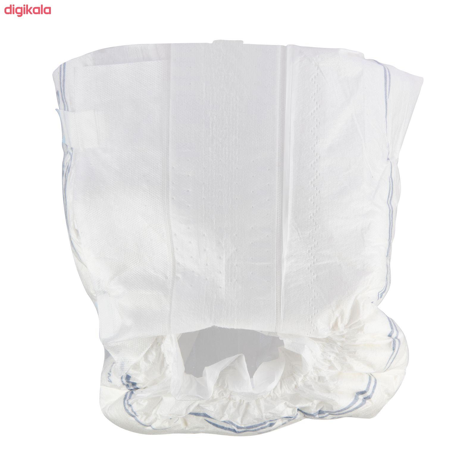 پوشینه بزرگسال چسبی ایزی لایف سایز متوسط بسته 16 عددی main 1 3