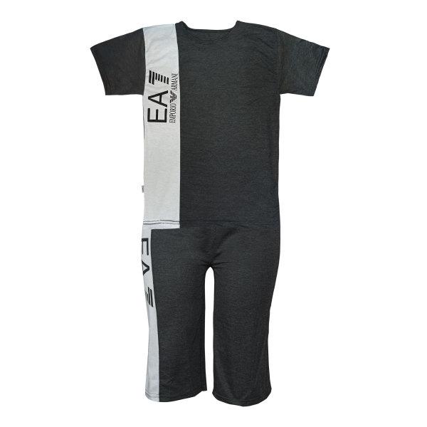 ست تی شرت و شلوارک مردانه مدل EA7