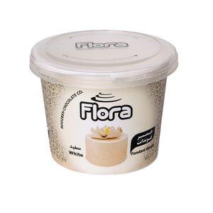 خمیر فوندانت سفید فلورا - 300 گرم
