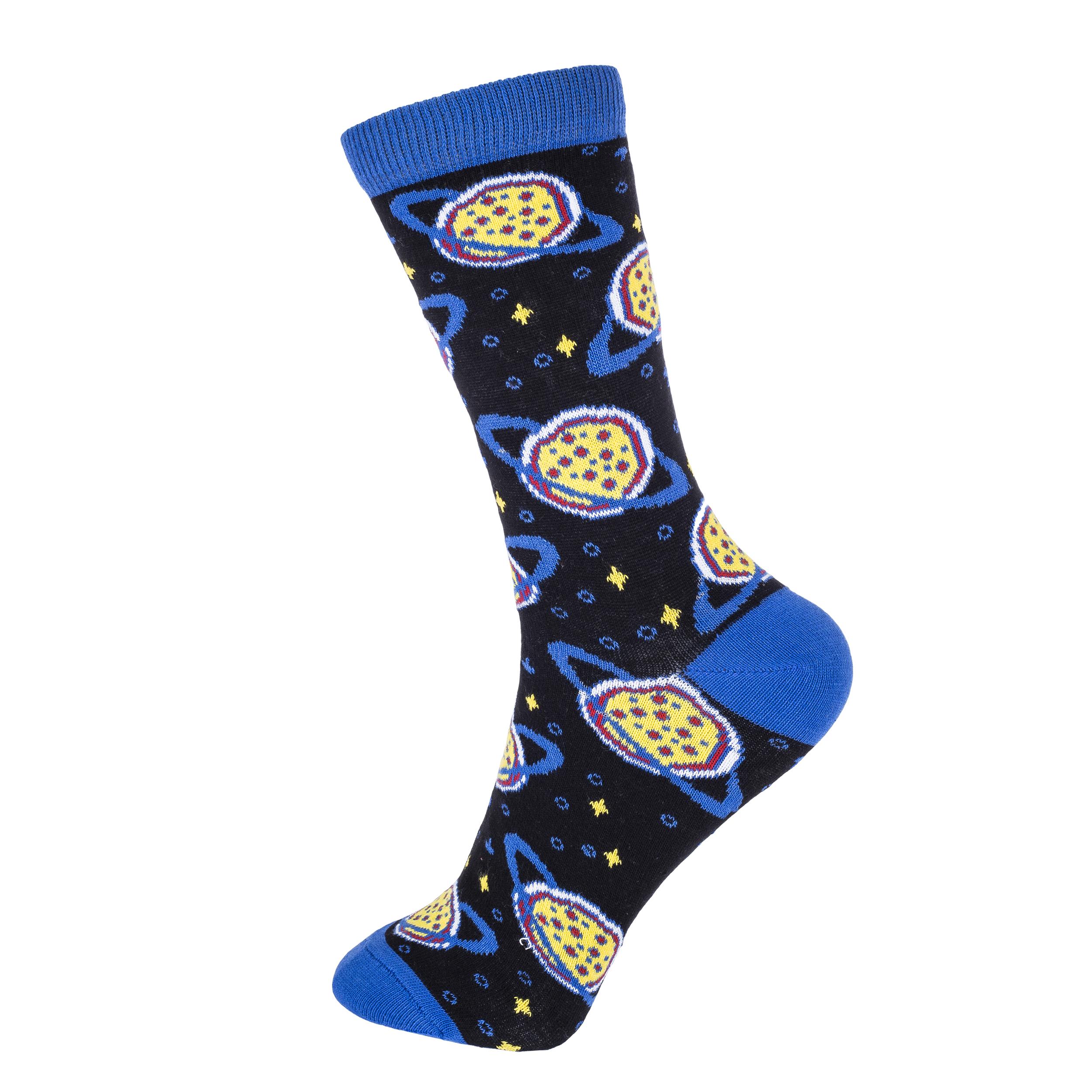 جوراب زنانه چتیک طرح کهکشان کد BL-CH 321