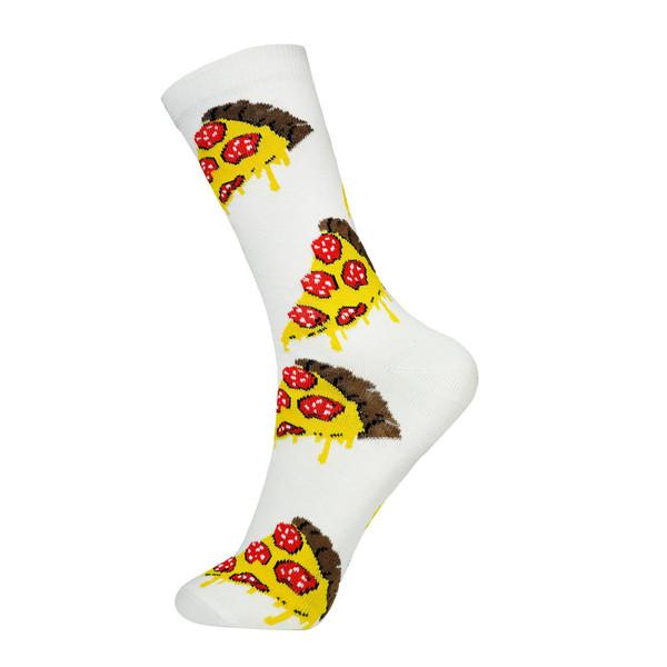 جوراب زنانه چتیک طرح پیتزا کد BL-CH 341