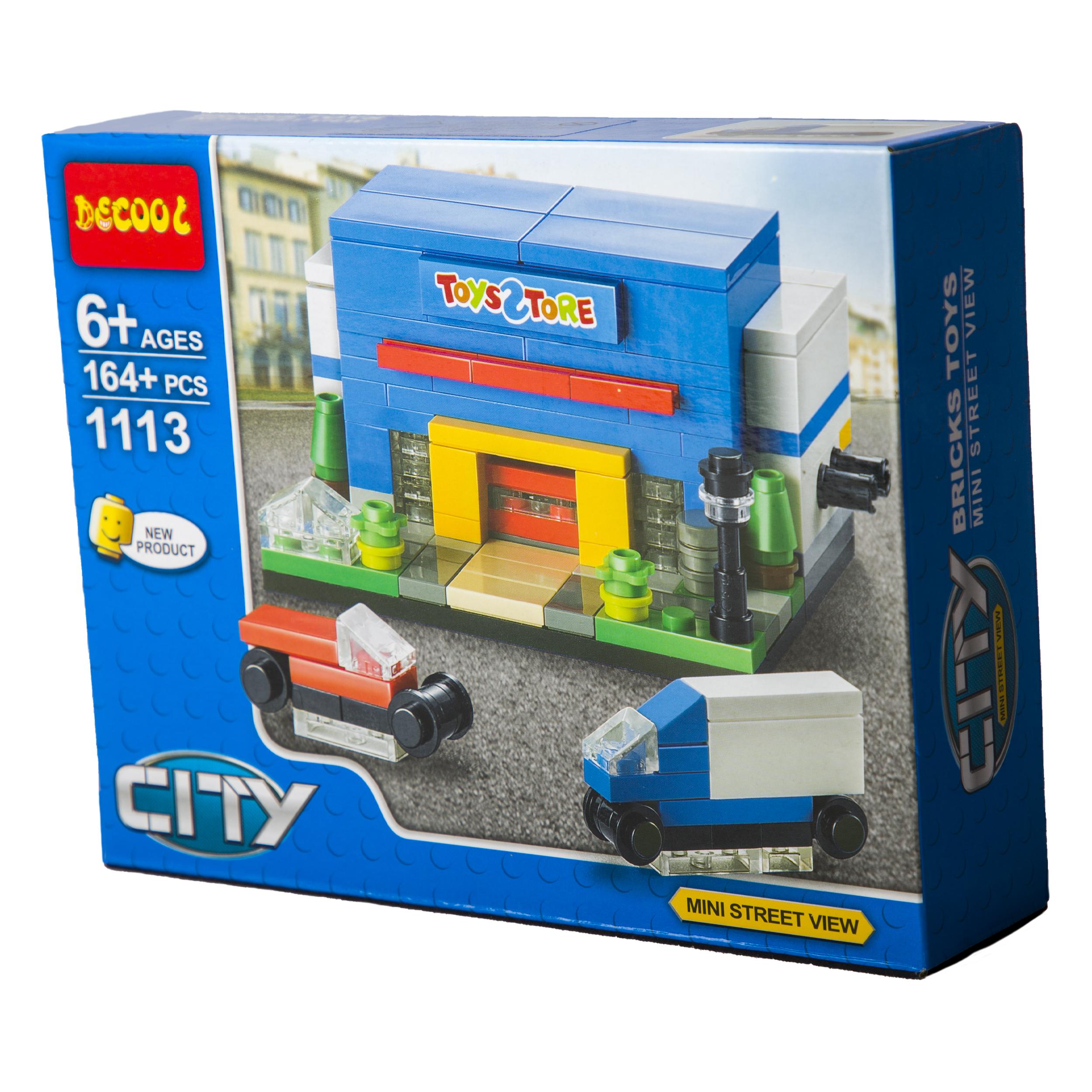 ساختنی دکول مدل 1113 city