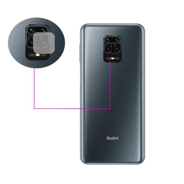 محافظ لنز دوربین مدل LTP مناسب برای گوشی موبایل شیائومی Redmi Note 9