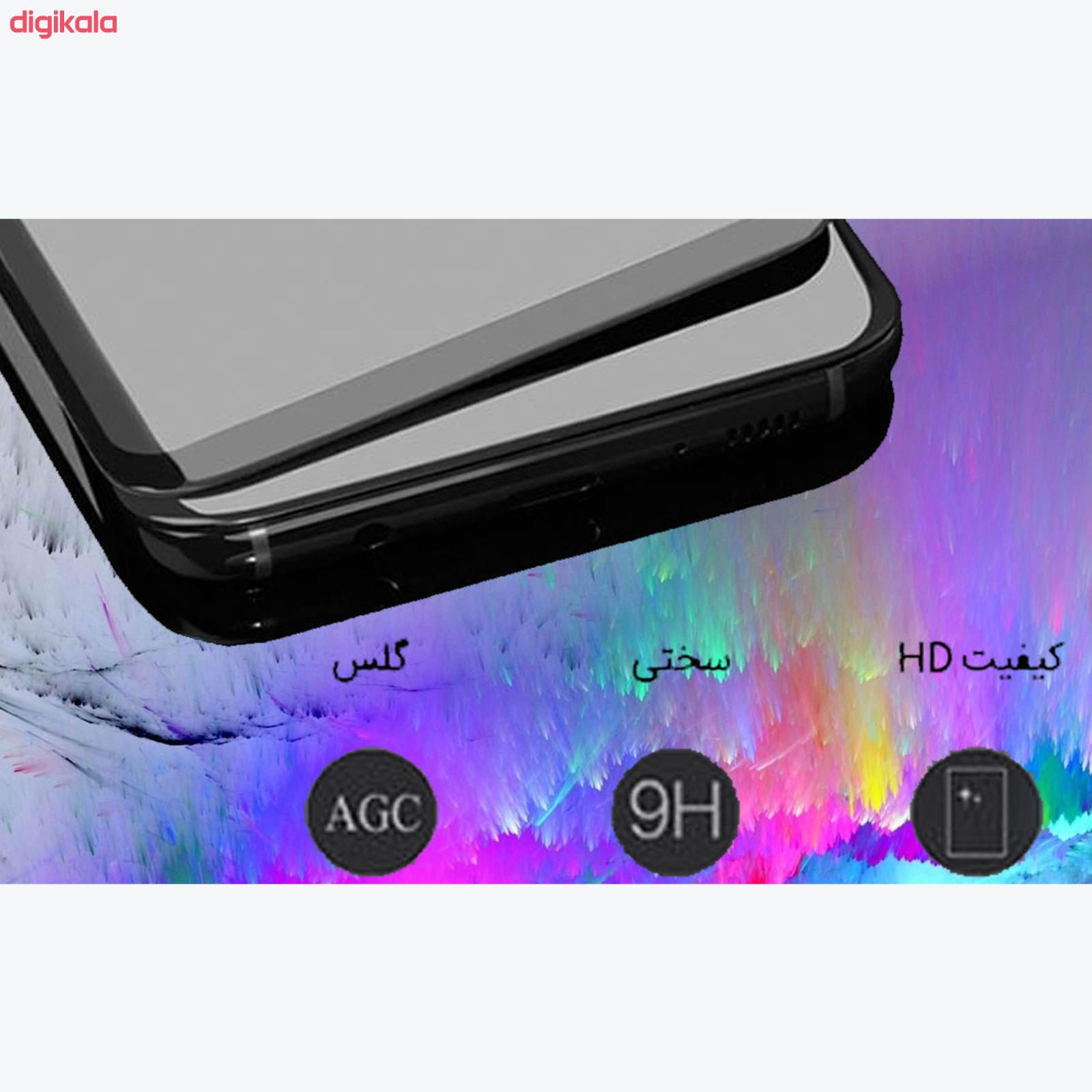 محافظ صفحه نمايش مدل FLGSP مناسب برای گوشی موبایل شیائومی Redmi Note 9 Pro به همراه محافظ لنز دوربین main 1 3