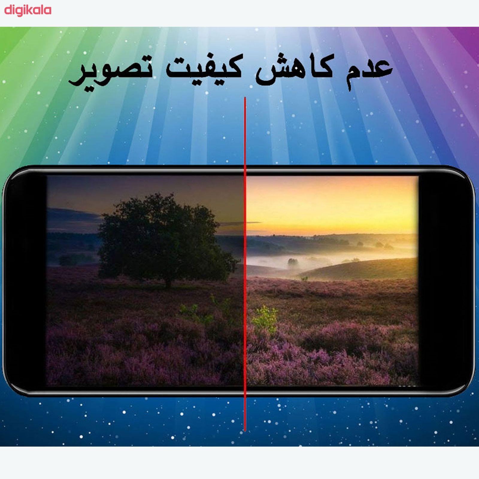 محافظ صفحه نمايش مدل FLGSP مناسب برای گوشی موبایل شیائومی Redmi Note 9 Pro به همراه محافظ لنز دوربین main 1 2