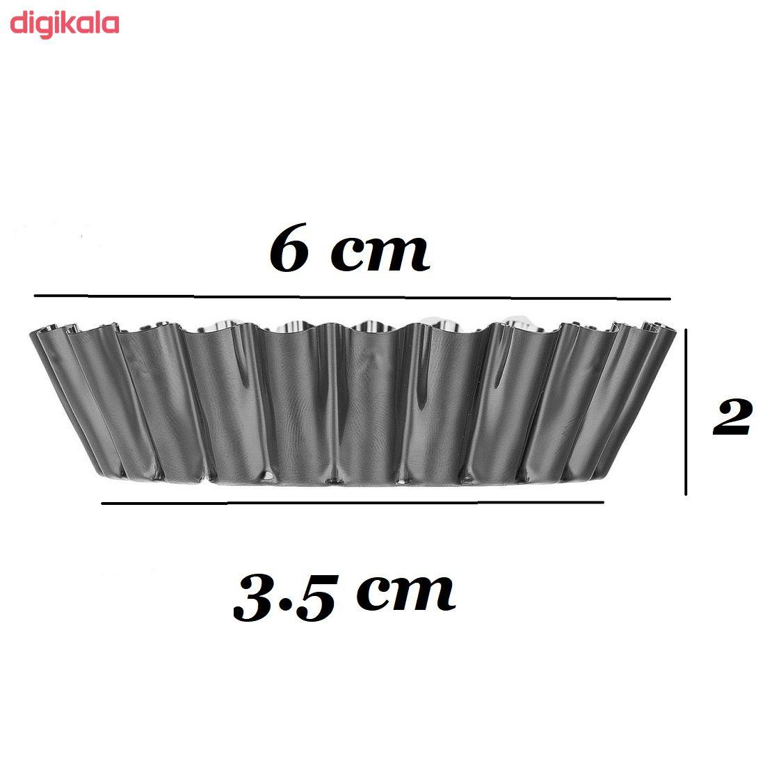 قالب شیرینی به گز مدل yaghoot بسته 12 عددی main 1 3