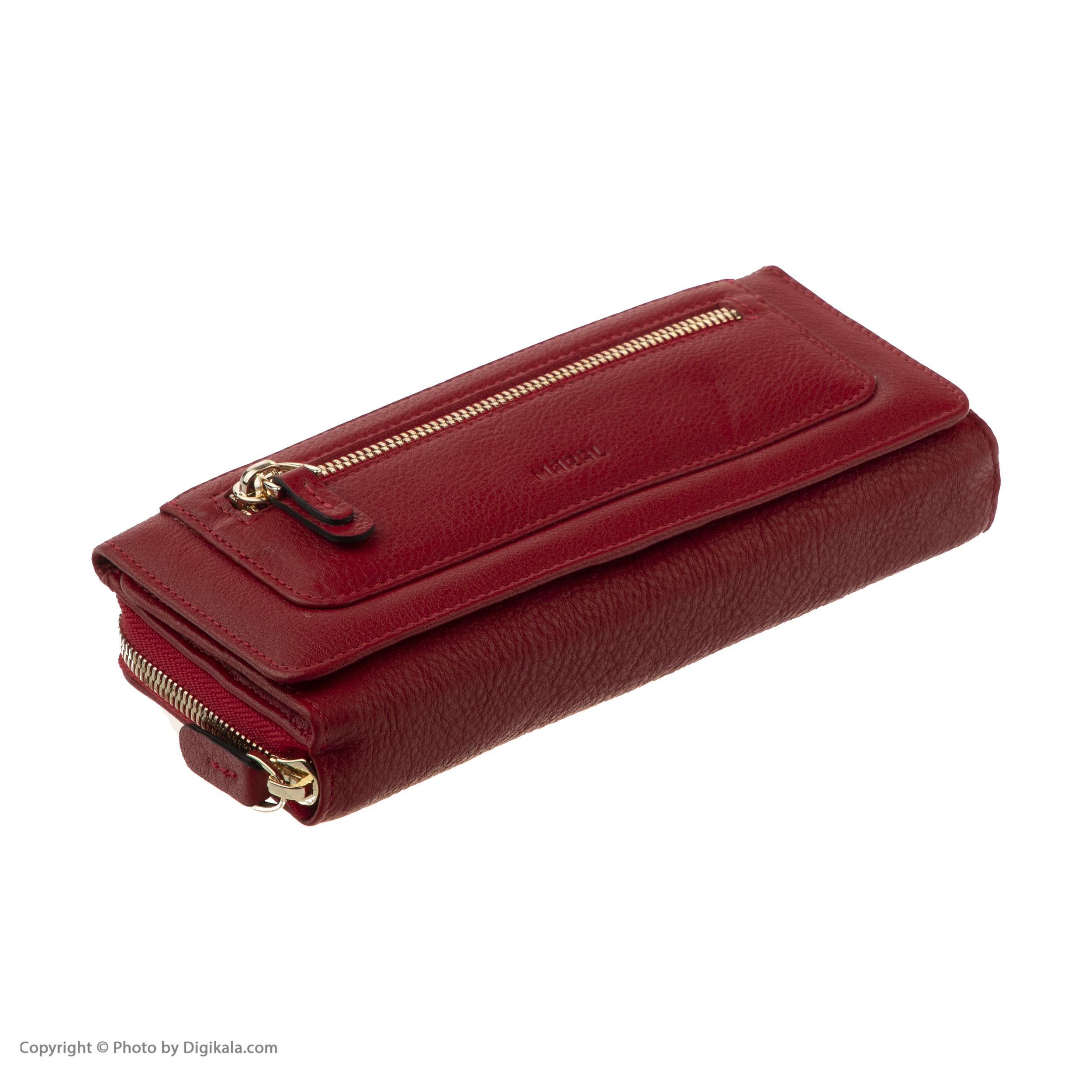 کیف پول زنانه مارال چرم مدل 4004080014