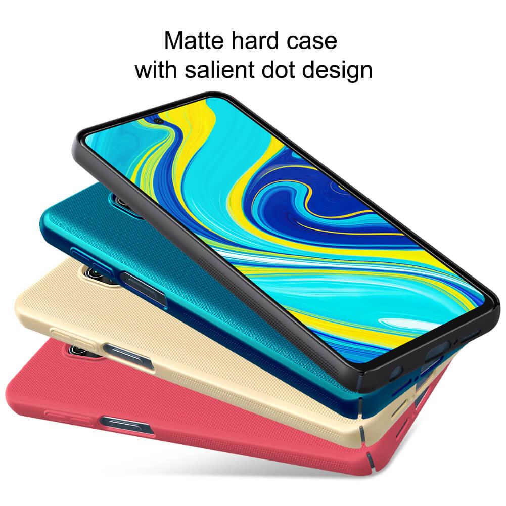 کاور نیلکین مدل Super Frosted Shield مناسب برای گوشی موبایل شیائومی Redmi Note 9S / Note 9 Pro / Note 9 Pro Max