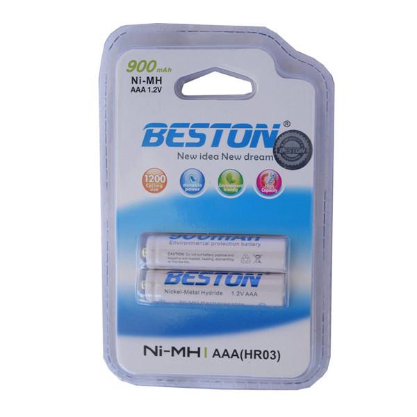 باتری نیم قلمی قابل شارژ بستون مدل BS-01 بسته دو عددی