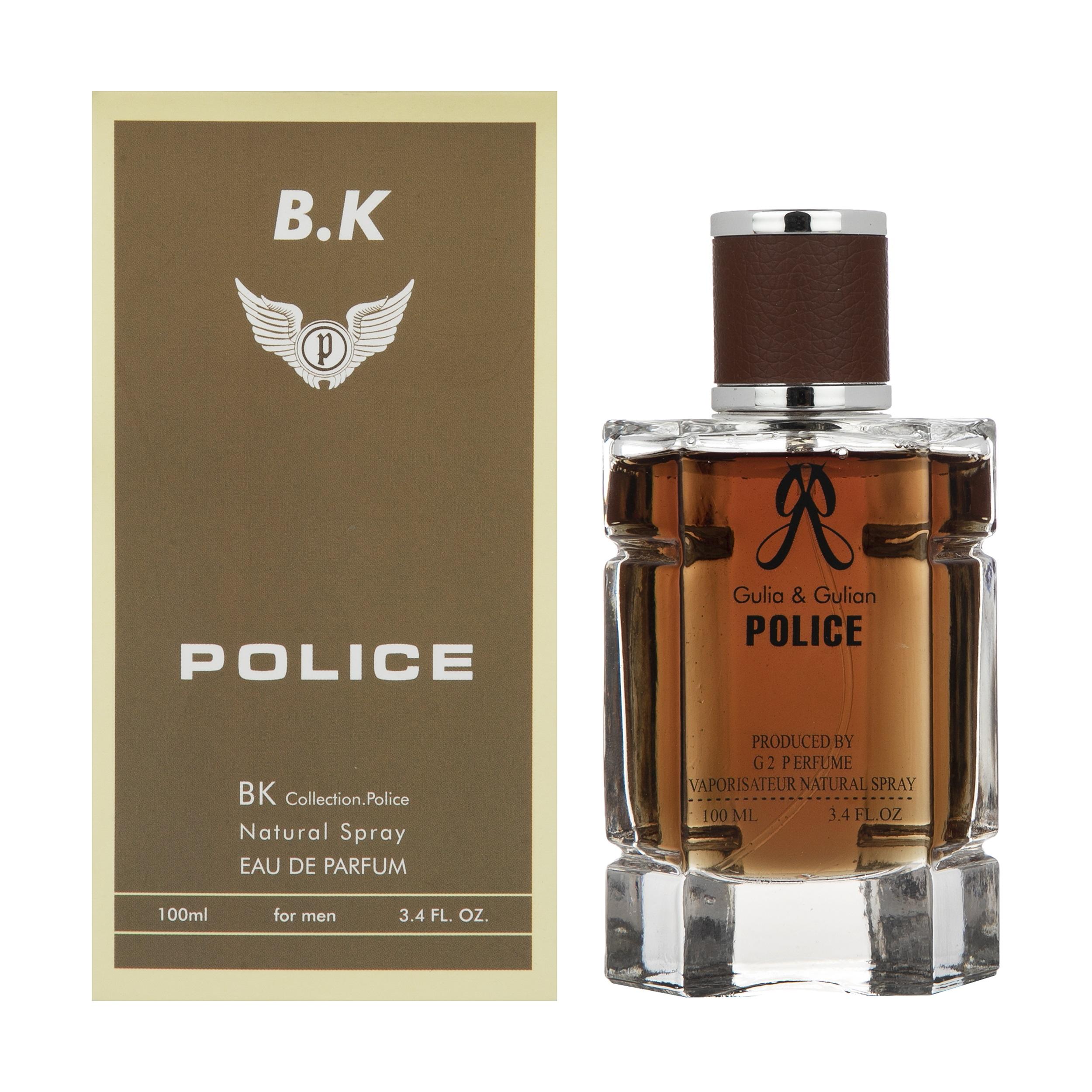 ادو پرفیوم مردانه بی کی مدل Police حجم ۱۰۰ میلی لیتر
