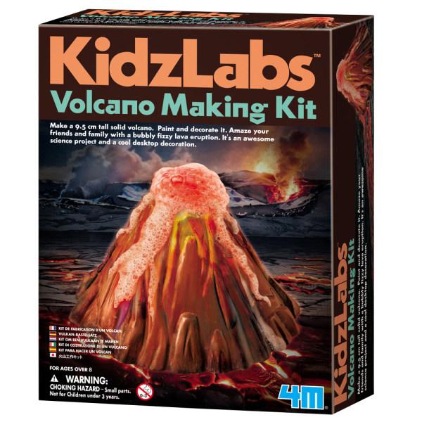 کیت آموزشی 4ام مدل آتشفشان کد 82659