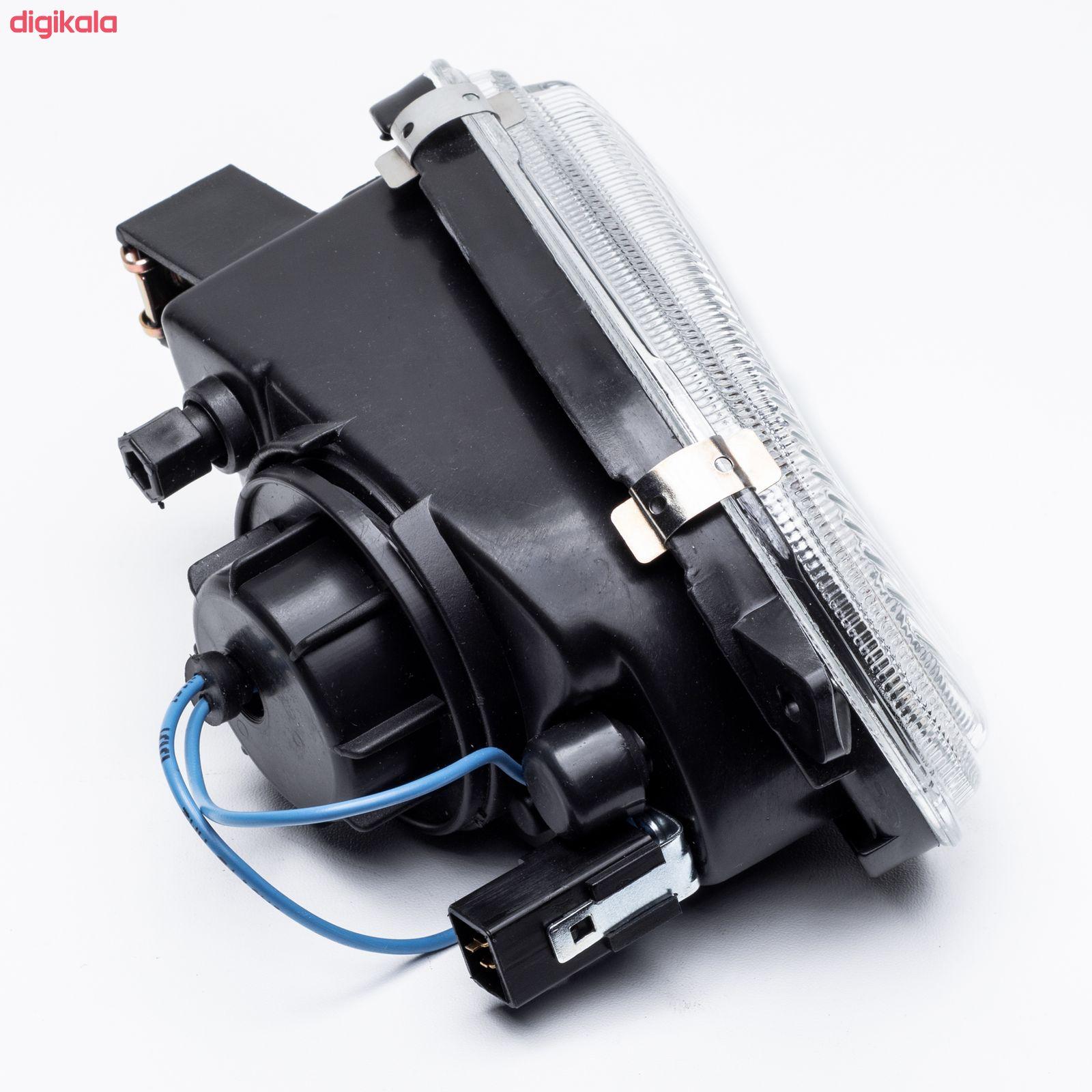 چراغ مه شکن جلو چپ گازار مدل JT123 مناسب برای سمند main 1 2