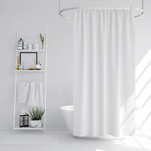 پرده حمام دلفین کد ِIR - DL سایز 200×180 سانتی متر