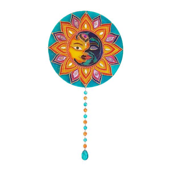 آویز تزیینی مدل ماه و خورشید