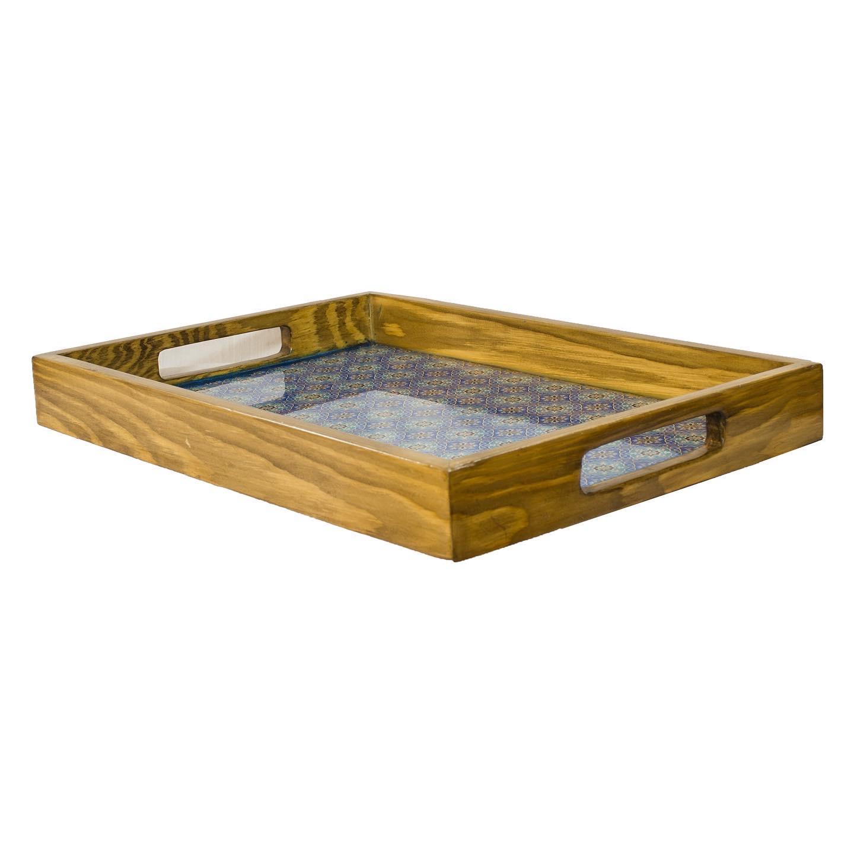 خرید                      سینی چوبی مدل سنتی TRT01