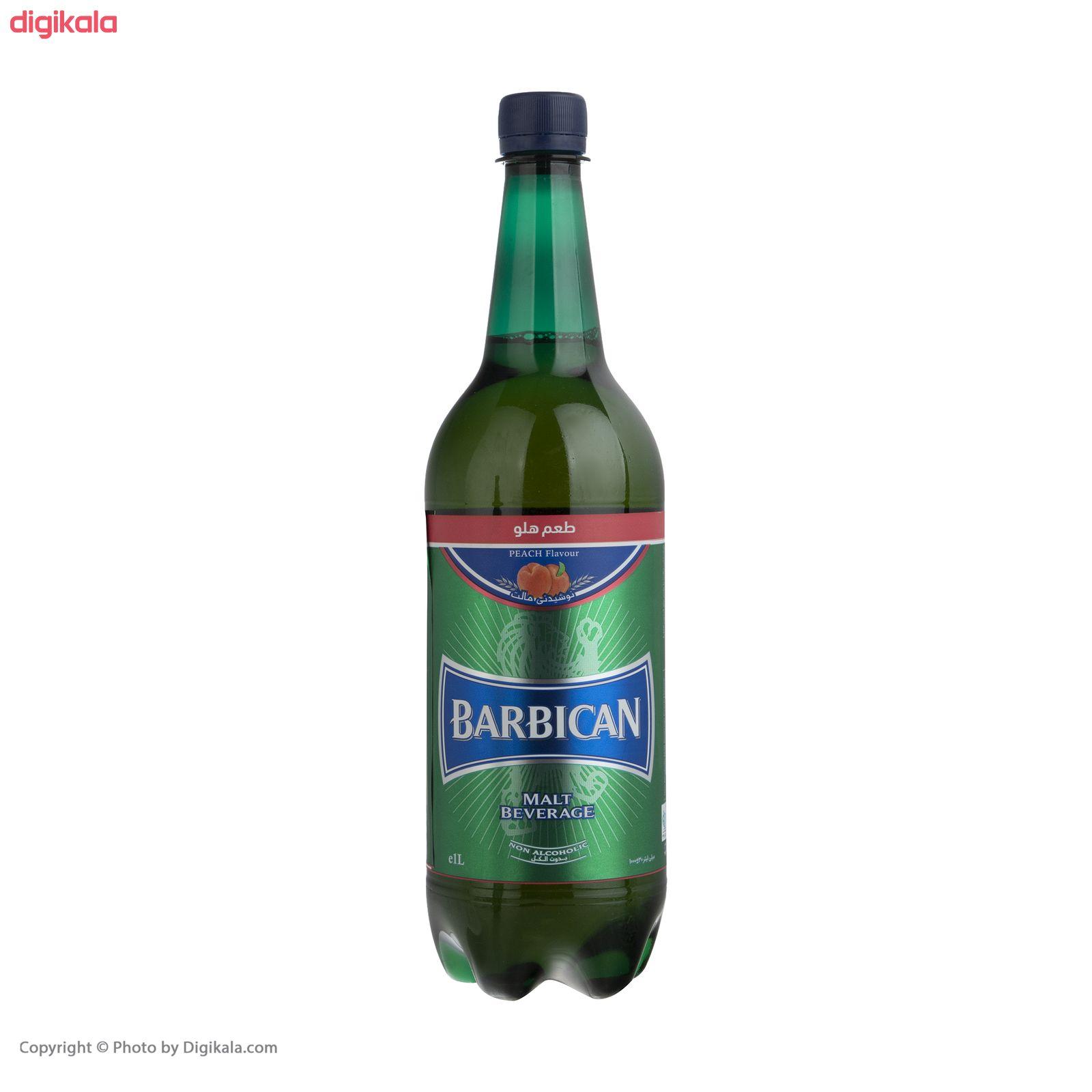 نوشیدنی مالت باربیکن طعم هلو - 1 لیتر main 1 1