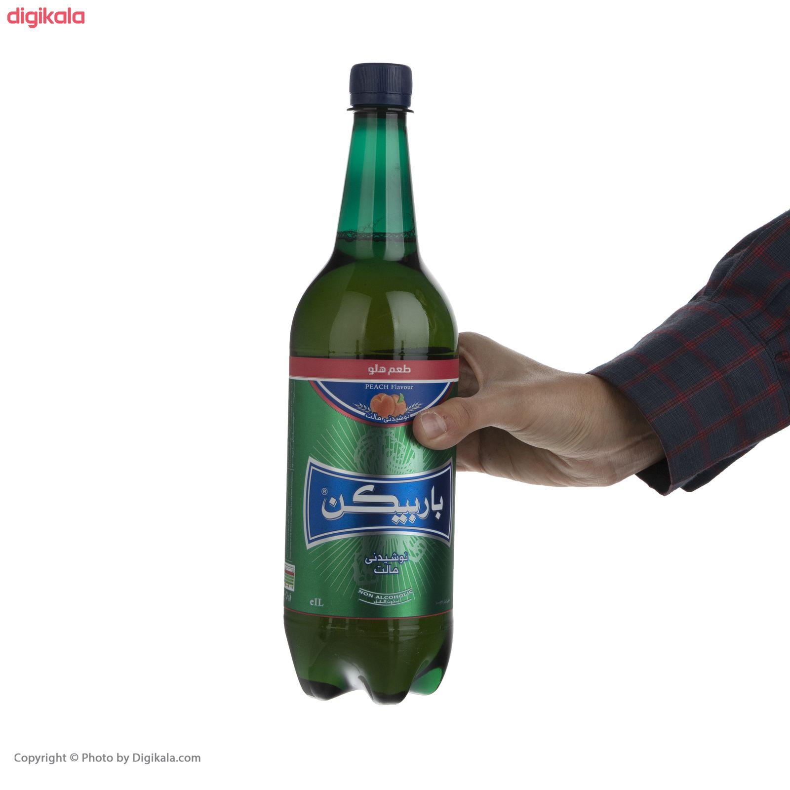 نوشیدنی مالت باربیکن طعم هلو - 1 لیتر main 1 2