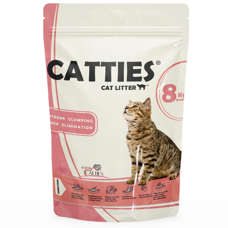 خاک گربه کتیز کد CA1 وزن 8 کیلوگرم