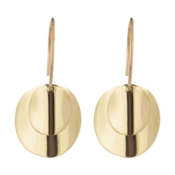 گوشواره طلا 18 عیار زنانه سیودو مدل 162659