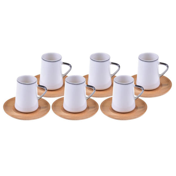سرویس چای خوری 12پارچه بامبوم مدل Cappu