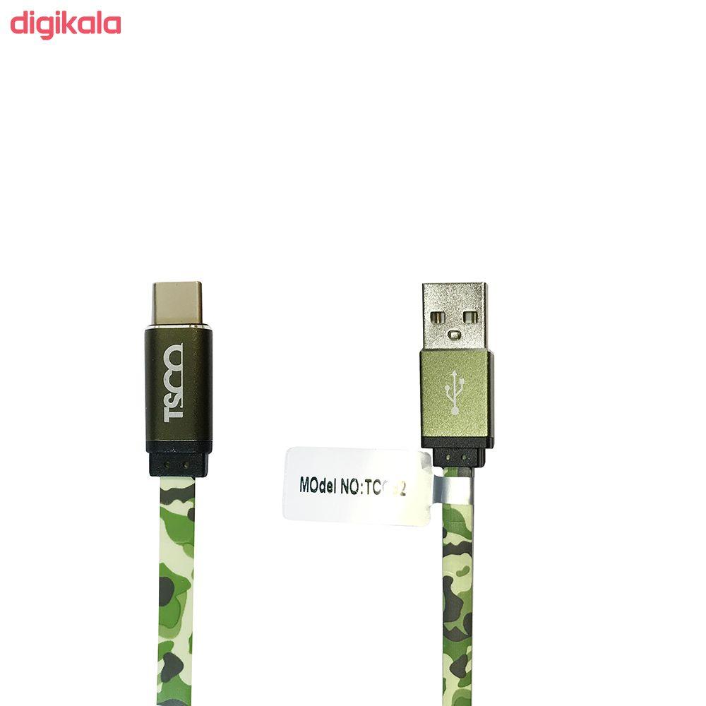 کابل تبدیل USB به USB-C تسکو مدل TC C92 طول 1 متر main 1 1