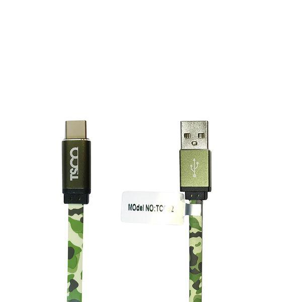 کابل تبدیل USB به USB-C تسکو مدل TC C92 طول 1 متر