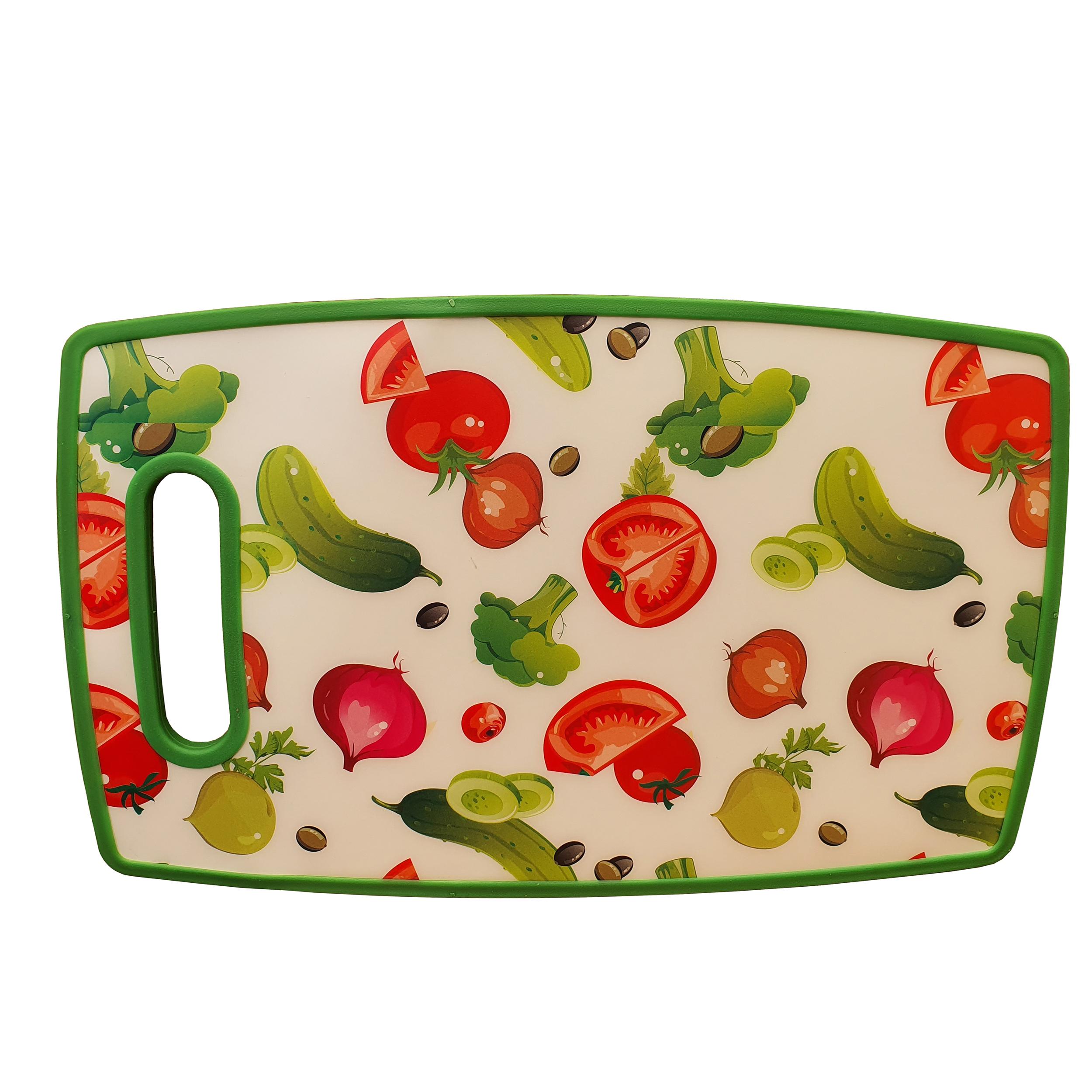 تخت گوشت طرح سبزیجات کد 8412