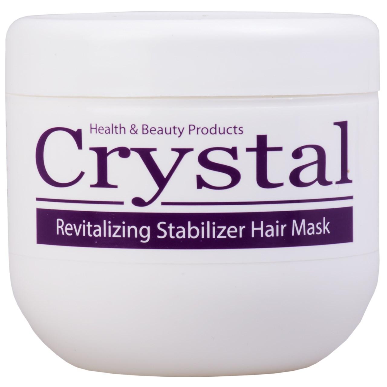 قیمت ماسک تغذیه کننده مو کریستال مدل Revitalizing Stabilizer حجم 500 میلی لیتر