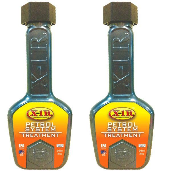 مکمل سوخت خودرو X-1R مدل Petrol-T حجم 240 میلی لیتر بسته 2 عددی