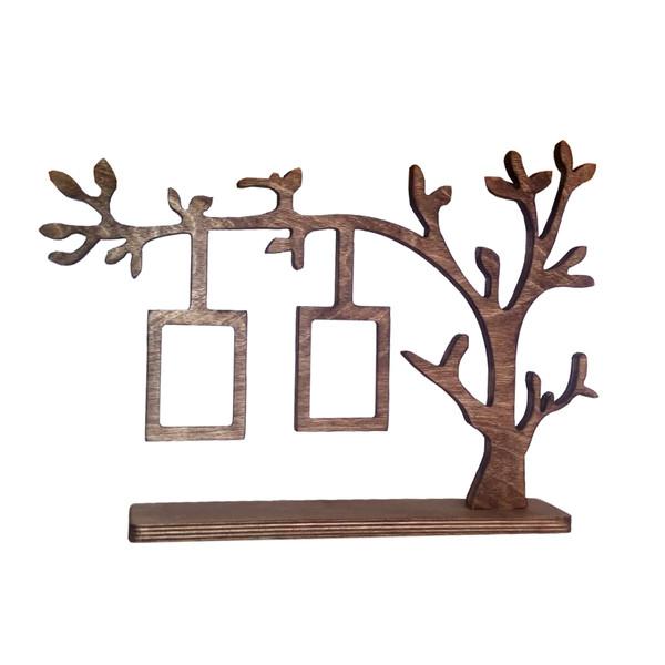 قاب عکس طرح درخت مدل 4130