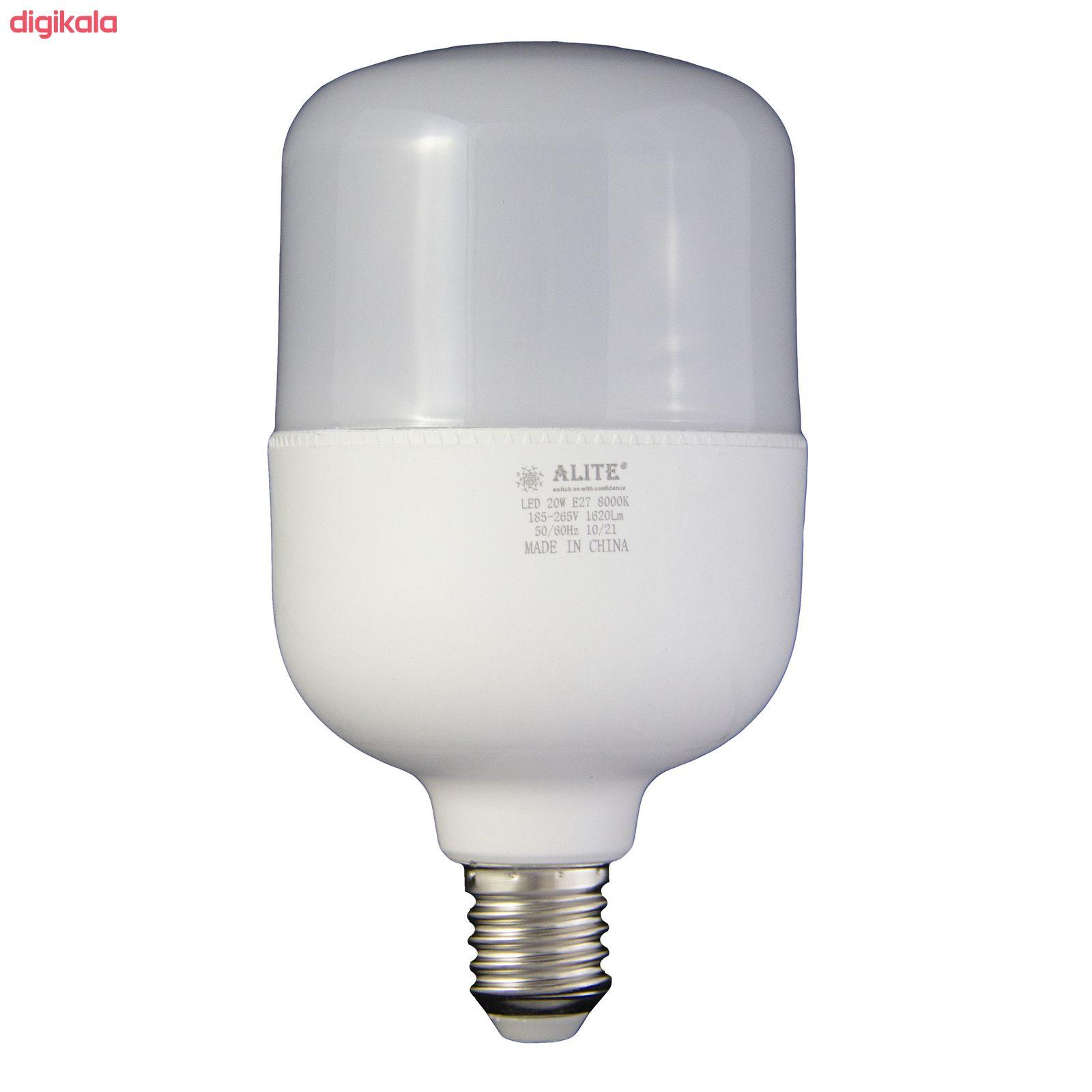 لامپ ال ای دی 20 وات الیت مدل 120 پایه E27 بسته 6 عددی main 1 1